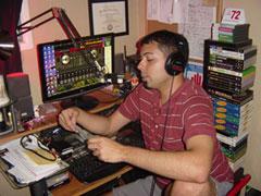 Chris at the mic.