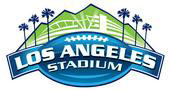The Los Angeles Football Stadium Logo