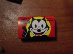 """Felix the Cat"" gum."