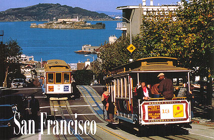 Old San Francisco Postcard